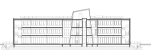 53900104_BT-100 - Section - 02 Langsdoorsnede Lift